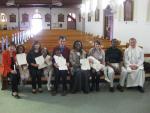 Baptism of all family from Burundi