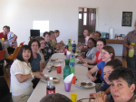 Freinds of Preca Community at Lunch at Preca Centre Brompton