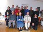 Preca Community meets friends from the Preca Community Garden