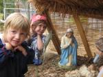 Young people at Preca Community Garden