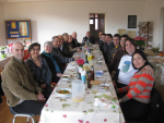 Superior General visit - lunch with Preca Garden community and Sr Marie Ralph - Vicar for religious