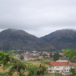 View from Preca Centre - Albania is known as the land of mountains and eagles