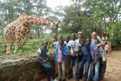 Visit to Giraffe Centre - Nairobi, December