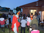 Saint Nicholas visits Preca Centre Deer Park